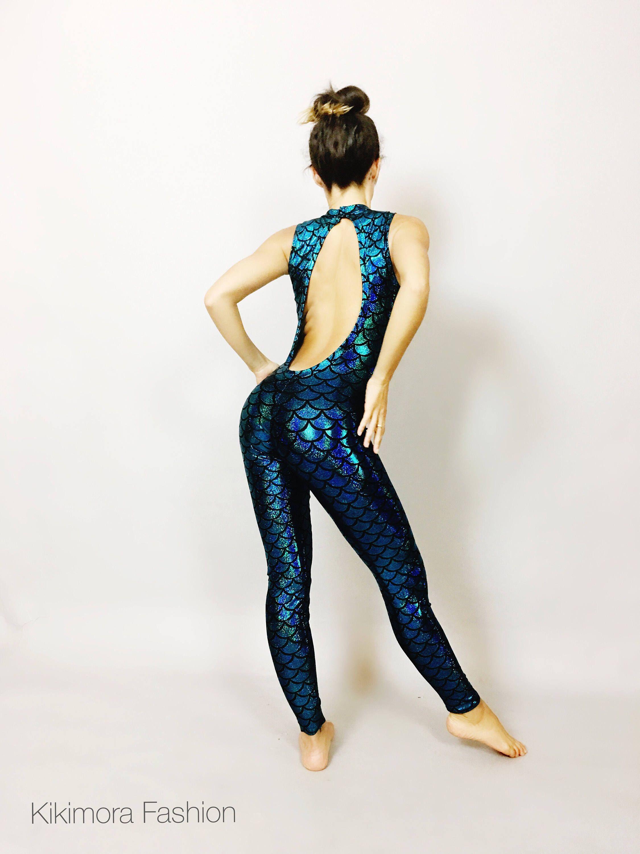 sleeveless  catsuit  festival  costume  bodysuit  jumpsuit  openback   activewear  yoga  gymnastic  dancewear  colorful  lycra  dance   burningmancostume ... 0adfae817508