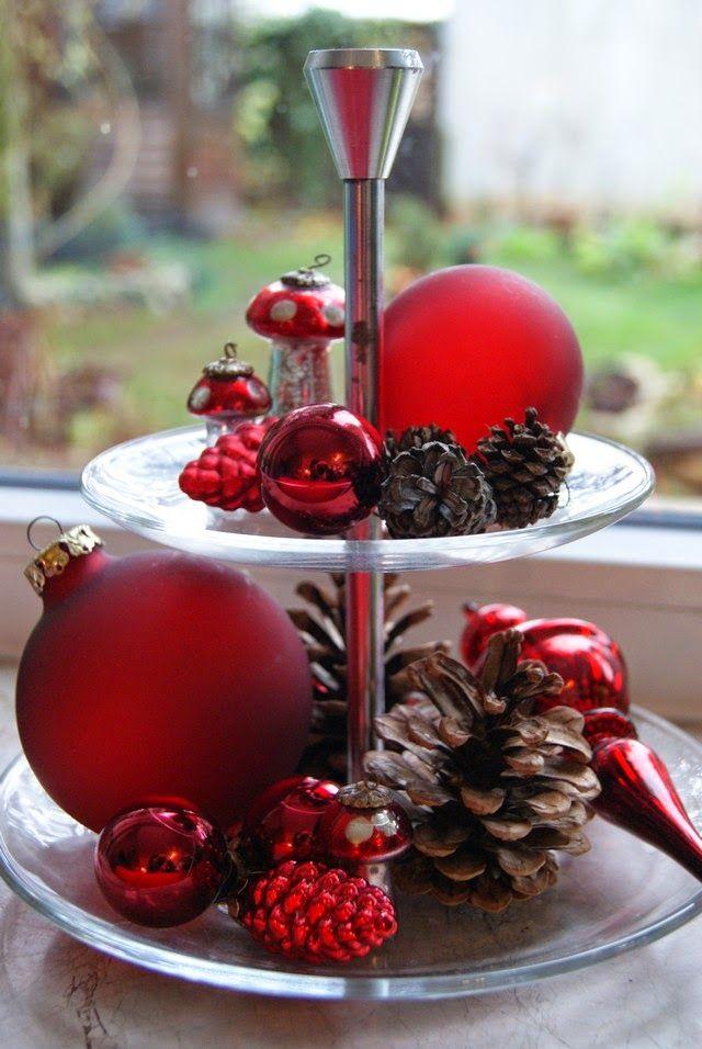 filz und garten adventsdeko in rot weihnachten pinterest. Black Bedroom Furniture Sets. Home Design Ideas