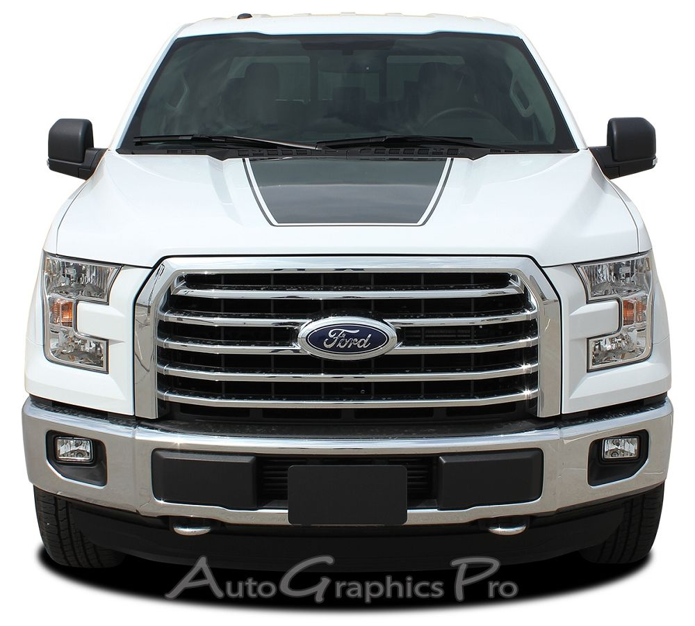 2015 2016 ford f 150 force hood factory style vinyl decal graphic