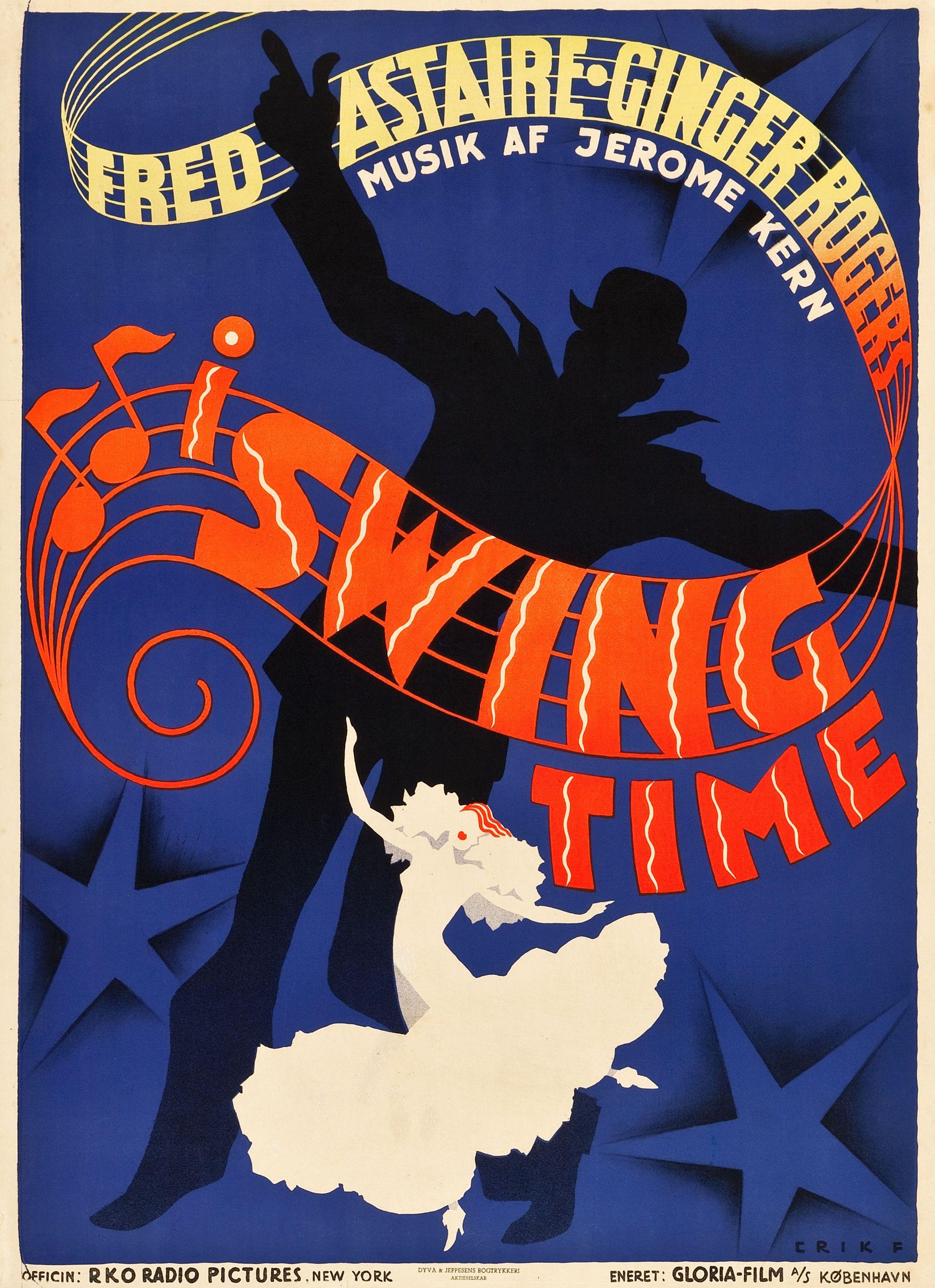 Swing Time Stevens, 1936) Danish design by Erik