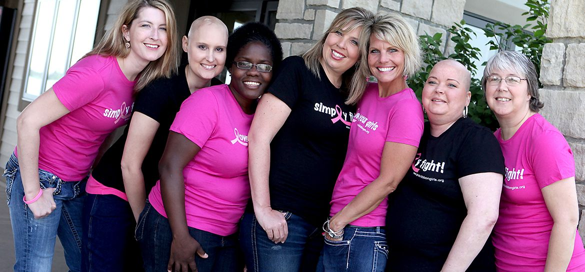 Pink Ribbon Girls | No One Travels This Road Alone - We are so inspired by these women!
