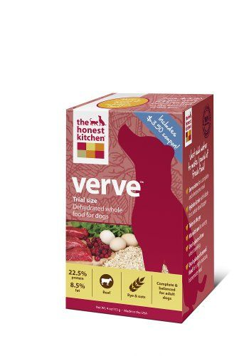 The Honest Kitchen Verve Dog Food 4Ounce Trial Honest Kitchen Awesome Honest Kitchen Dog Food Design Ideas