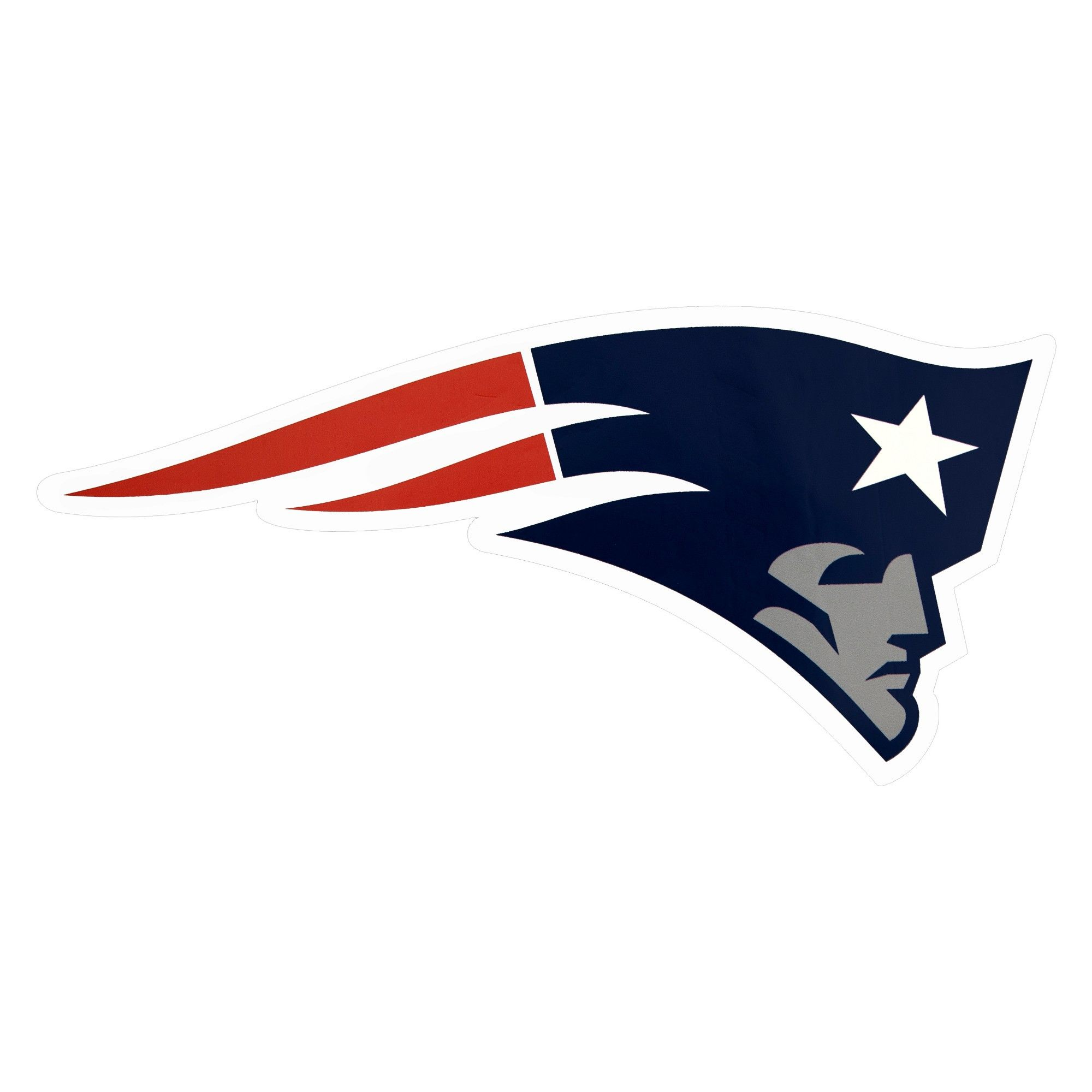Nfl New England Patriots Large Outdoor Logo Decal New England Patriots Logo Nfl New England Patriots New England Patriots