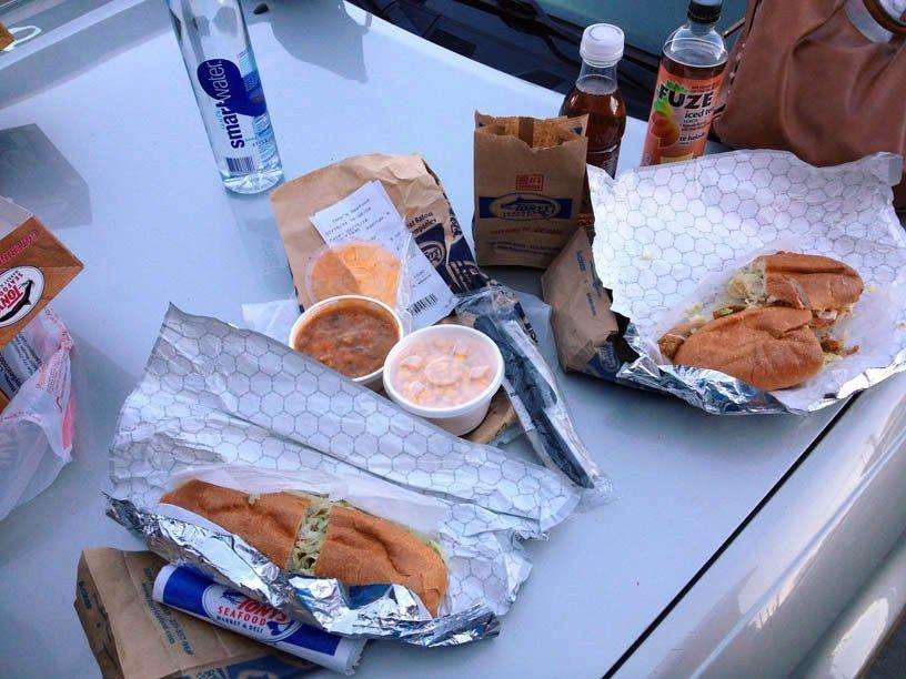 Baton Rouge: Tony's Seafood, LSU campus