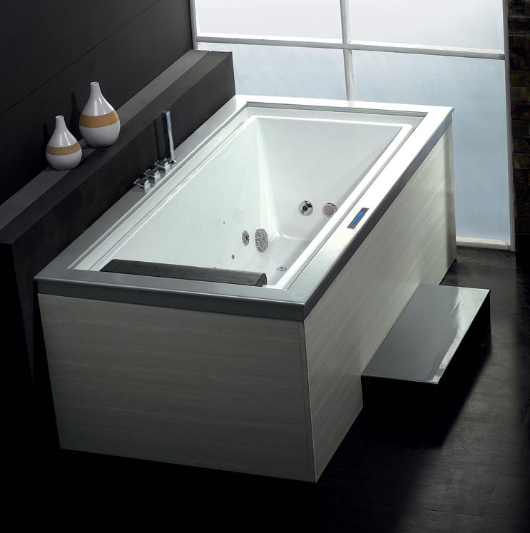 Ariel | Platinum Whirlpool Bathtub AM146JDTSZ | Small Whirlpool ...