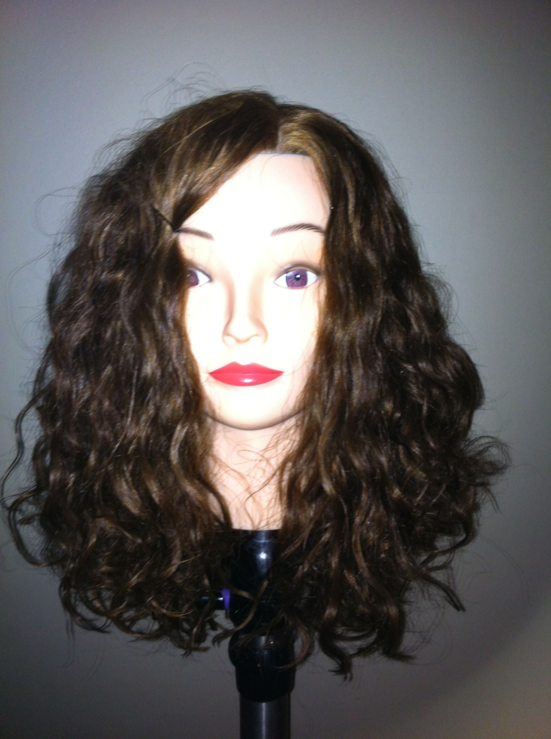 permanent waving with curlformers - loose beach-waves | perm rod