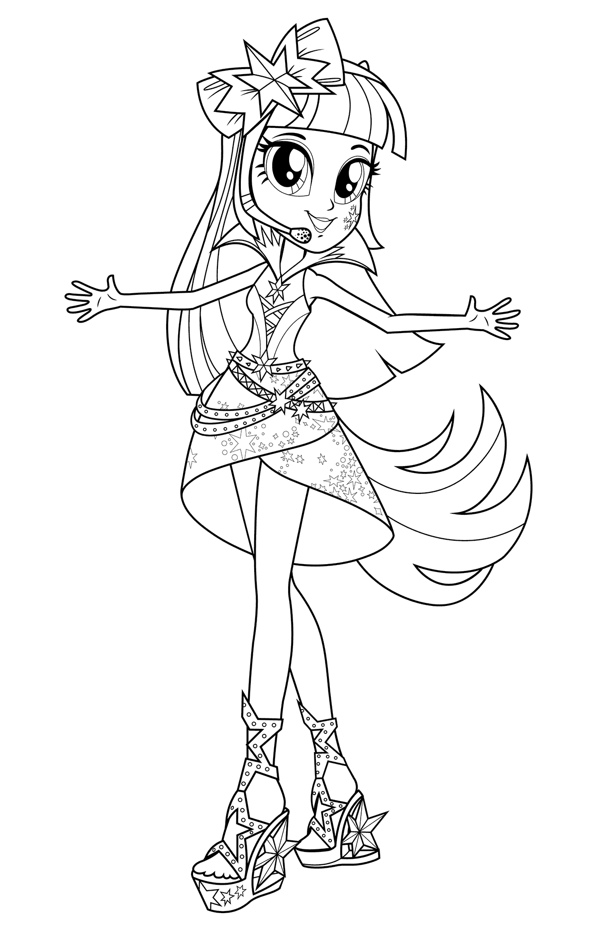Pin By Veronica Ojopi On Para Colorear My Little Pony Coloring Cute Coloring Pages My Little Pony Twilight