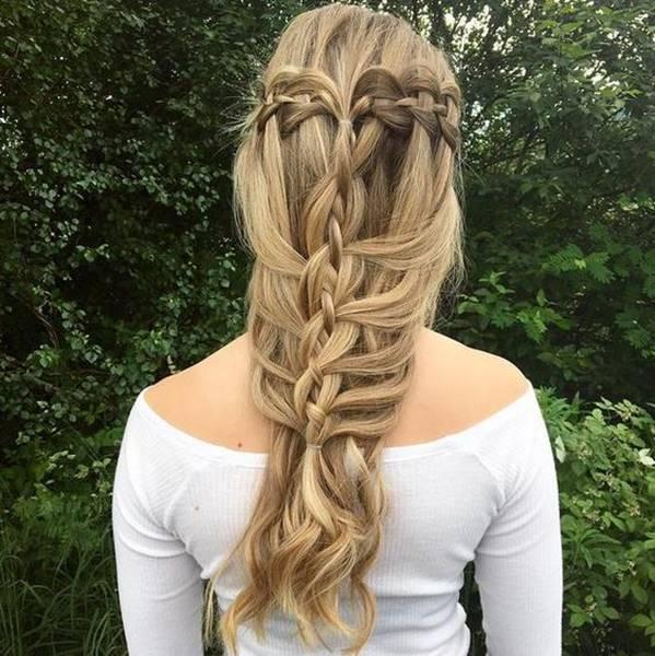 اجمل تسريحات شعر طويل ناعمة و مرفوعة للاعياد و المناسبات Longhairstyles Dutchbraid Stylishhai Big Box Braids Hairstyles Half Braided Hairstyles Hair Styles