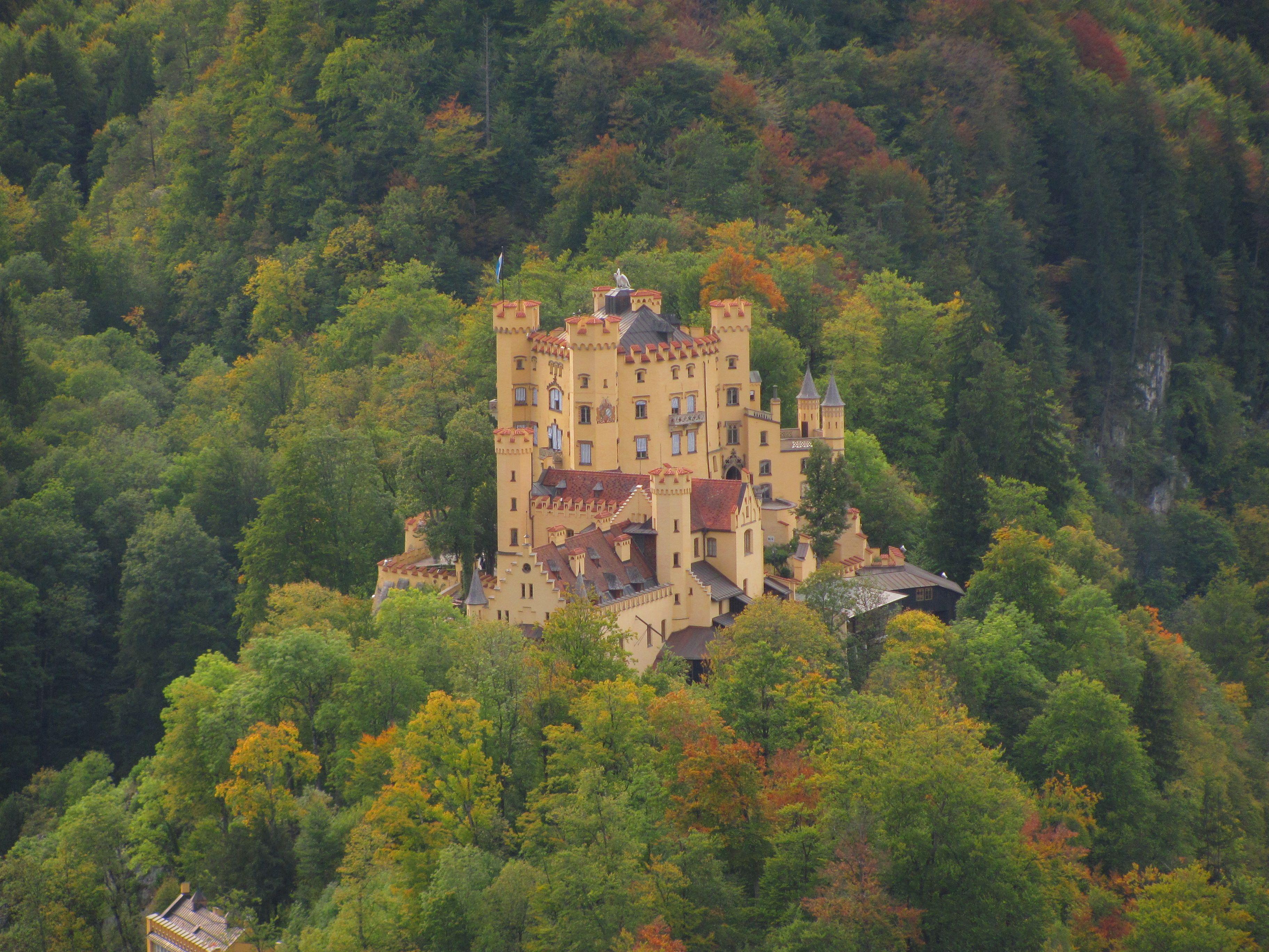 Hohenschwangau Castle Places Castle Visiting