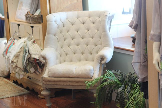 Ordinaire Fontaine Wingback Chair