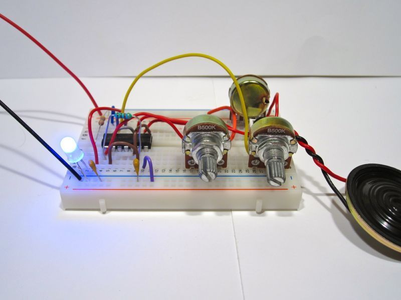 Build an Atari Punk Circuit on a Breadboard | DIY electronics