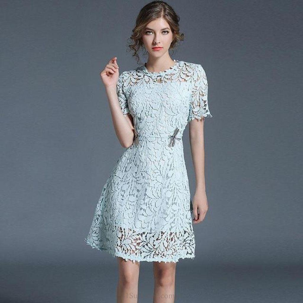Classy Lace Sundress | 81Supreme. Dresses | dresser makeover ...