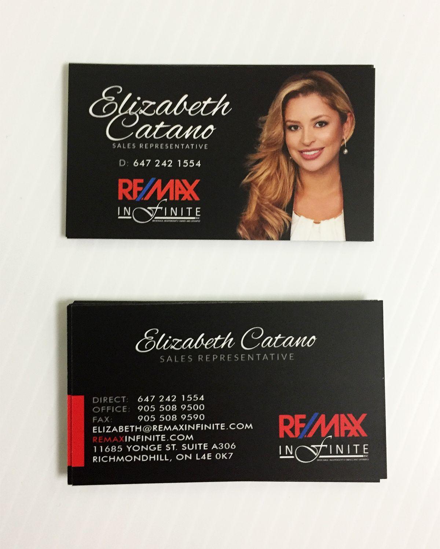 Remax business card sleek design for realtor elizabeth www remax business card sleek design for realtor elizabeth sweetprint reheart Choice Image