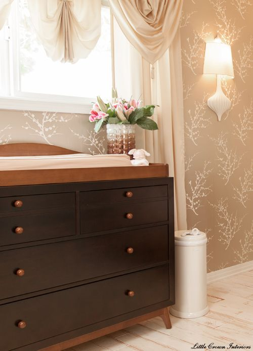 Changing Table By Young America Furniture Kids Children Nursery Design Celebrity Nurseries