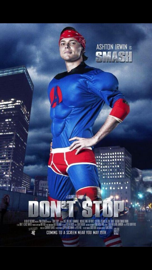 5sos Don T Stop Mv Smash Is My Super Hero Crush Ashton Irwin