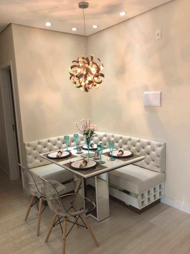 Idea para comedor peque o pisonuevo muebles homedecor for Muebles para comedor pequeno