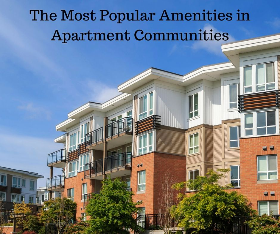Great Apartments For Rent: Great List Of What Amenities People Want In Their