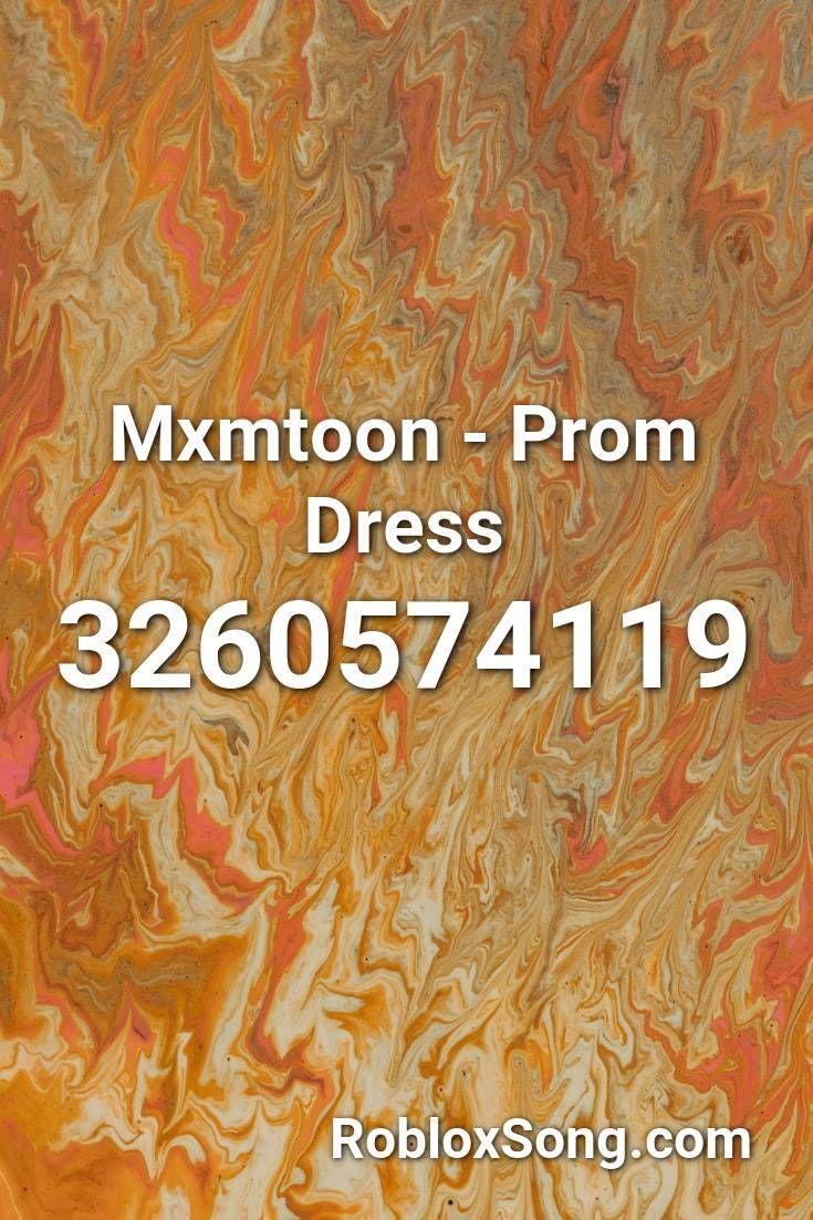 Mxmtoon Prom Dress Roblox Id Roblox Music Codes In 2020