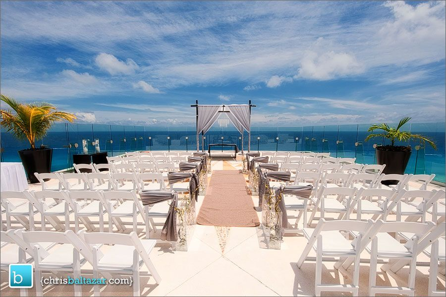 sky terrace beach palace cancun beautiful location to get married