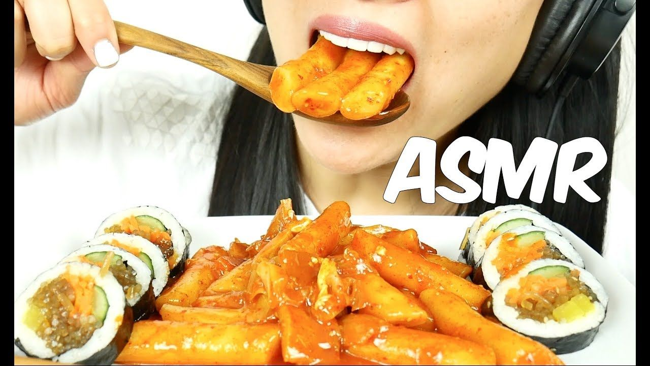 Asmr Korean Rice Cake Kimbap Chewy Eating Sounds No Talking Sas Asmr Food Vids Korean Rice Cake Food My name is sas and i love making videos :). asmr korean rice cake kimbap chewy