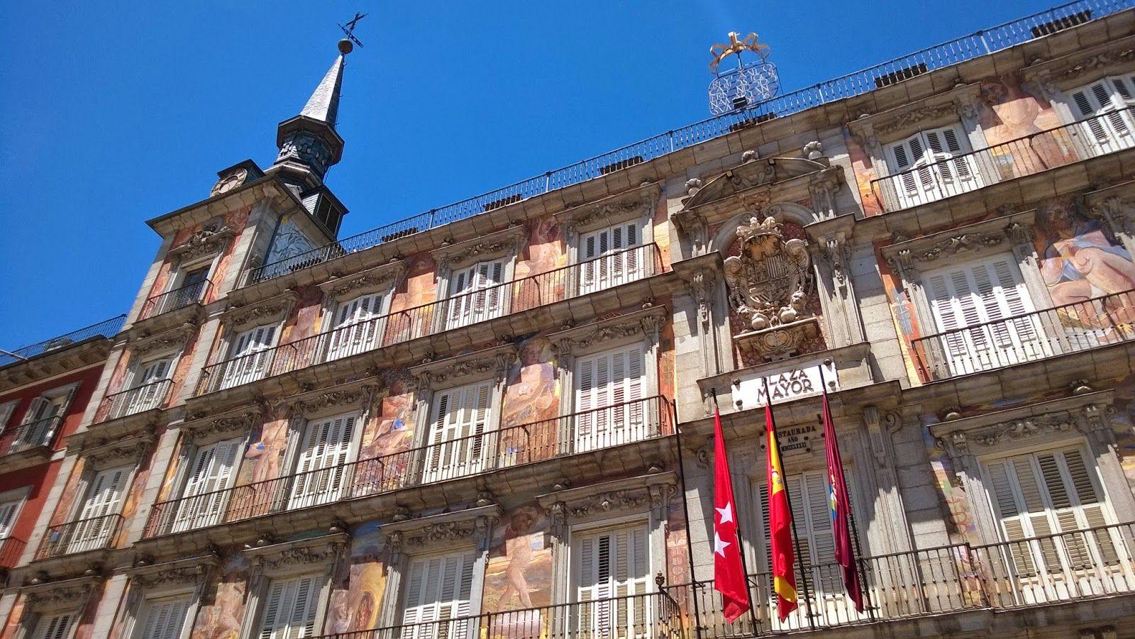 Apen matkat: Madrid osa 2, Plaza Mayor ja Mercado de San Miguel