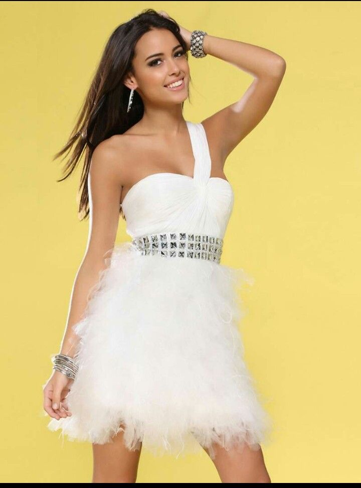 Feather Dress for Prom