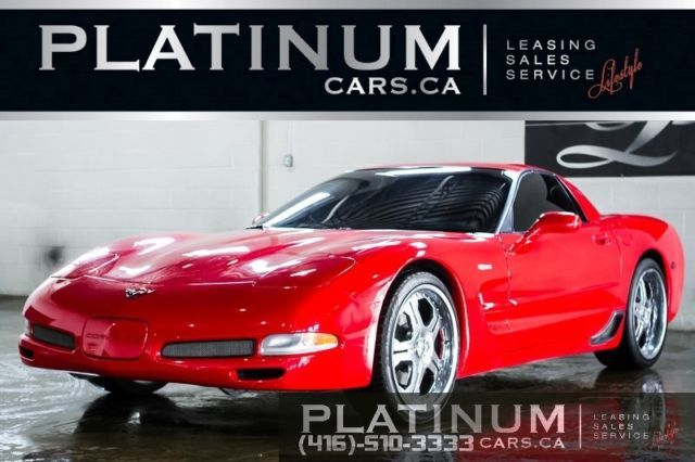 2002 Chevrolet Corvette Z06 Coupe 57l 405hp Head Up Display