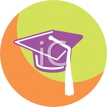 iCLIPART - Royalty Free Clipart Image of a Mortarboard ...