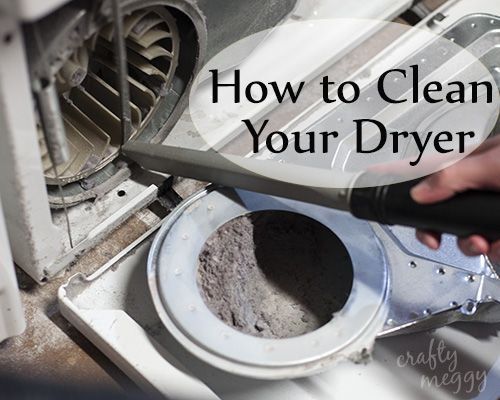 How To Clean Your Dryer Cleaning Household Diy Home