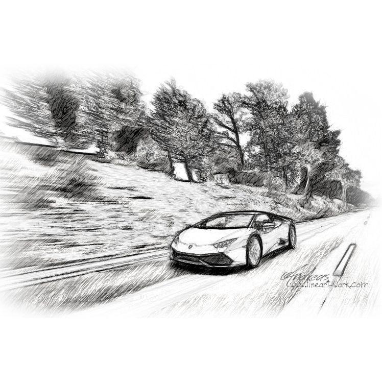 Lamborghini Huracan | Www.fineart Work.com