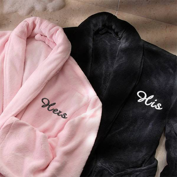 His and Hers Bathrobes...cozy and cuddly. | ** Gift Ideas ...