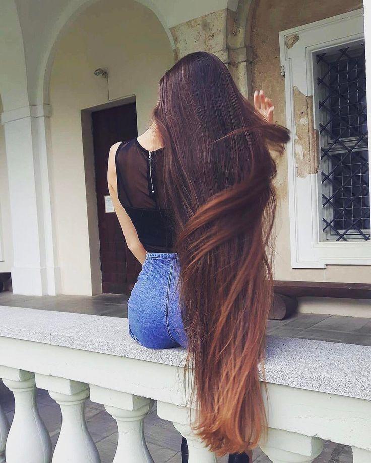 фото длинных волос со спины этом