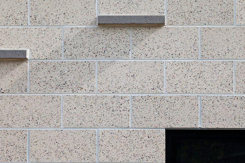 Honed Concrete Blocks Honed Concrete Brick Detail Concrete Blocks