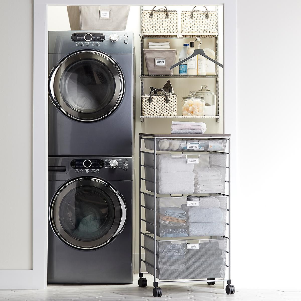 Make The Most Of Tight Quarters In Your Laundry Area Available