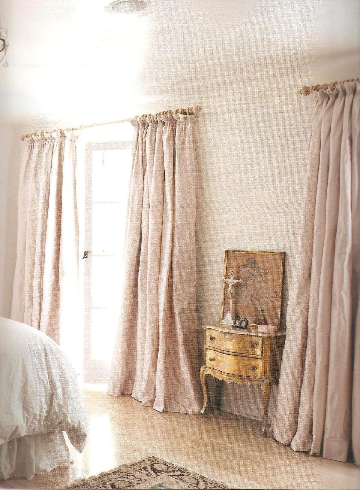 wunderbare seide schlafzimmer vorhänge | schlafzimmer