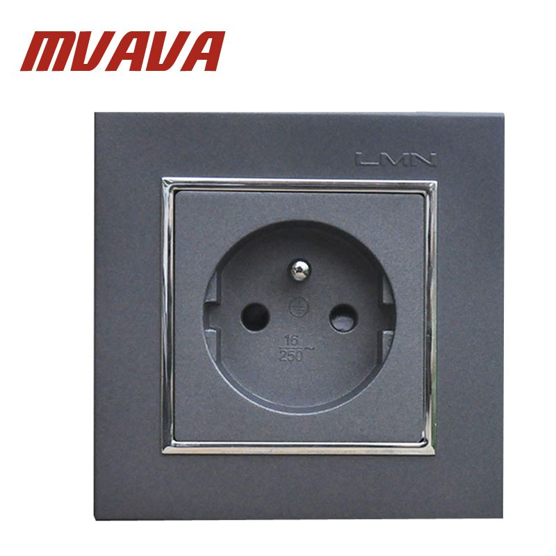 mvava french standard wall power socket electrical wiring outlet ac rh pinterest com Elec Plug Wiring Proper Wiring of a Plug