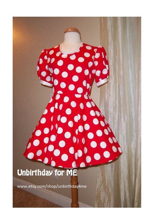Minnie Mouse Dapper Day adult dress, small to plus size ...