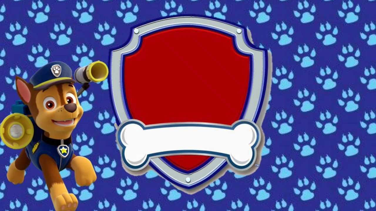 Convite Virtual Animado Tema Patrulha Canina Gratis Para Baixar E