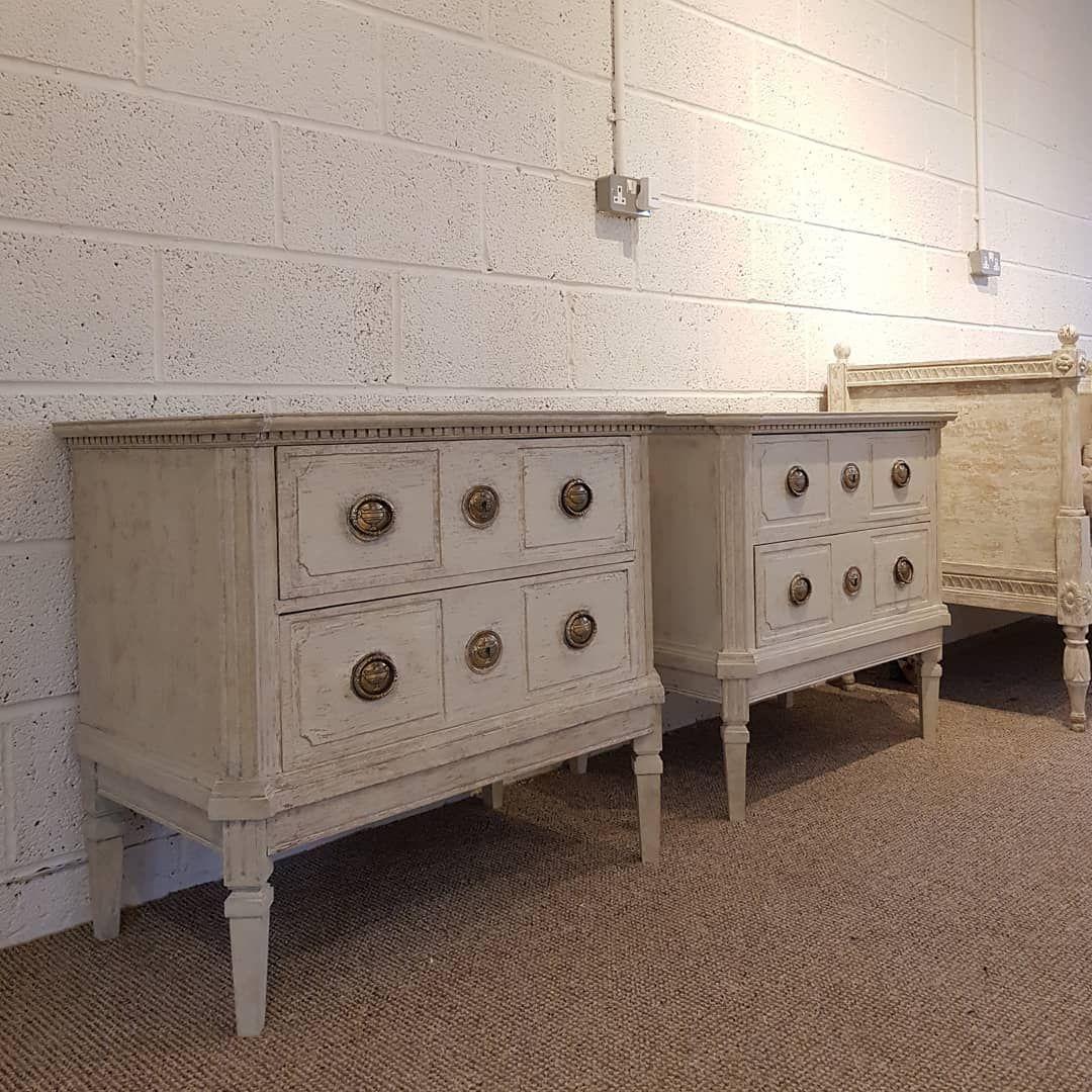 D Antique Interiors On Instagram Gustavian Bedside Tables Dm For