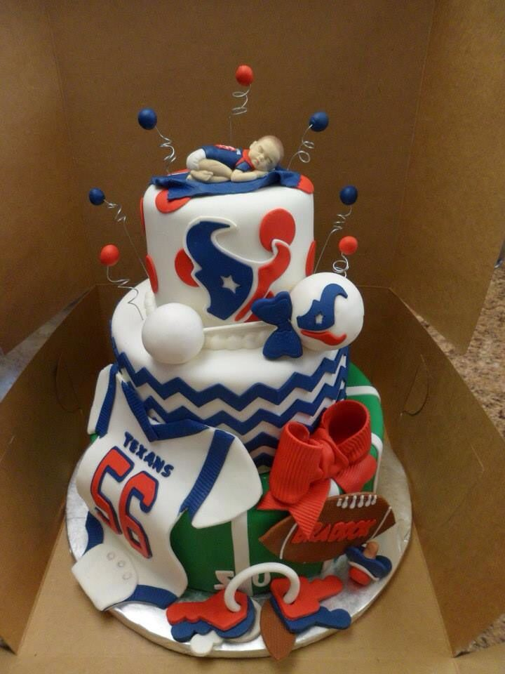 Gorgeous Texans Cake Birthday Cakes Pinterest Texans cake