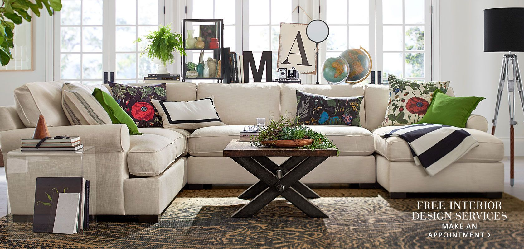 Design Services Available Free With Pottery Barn A