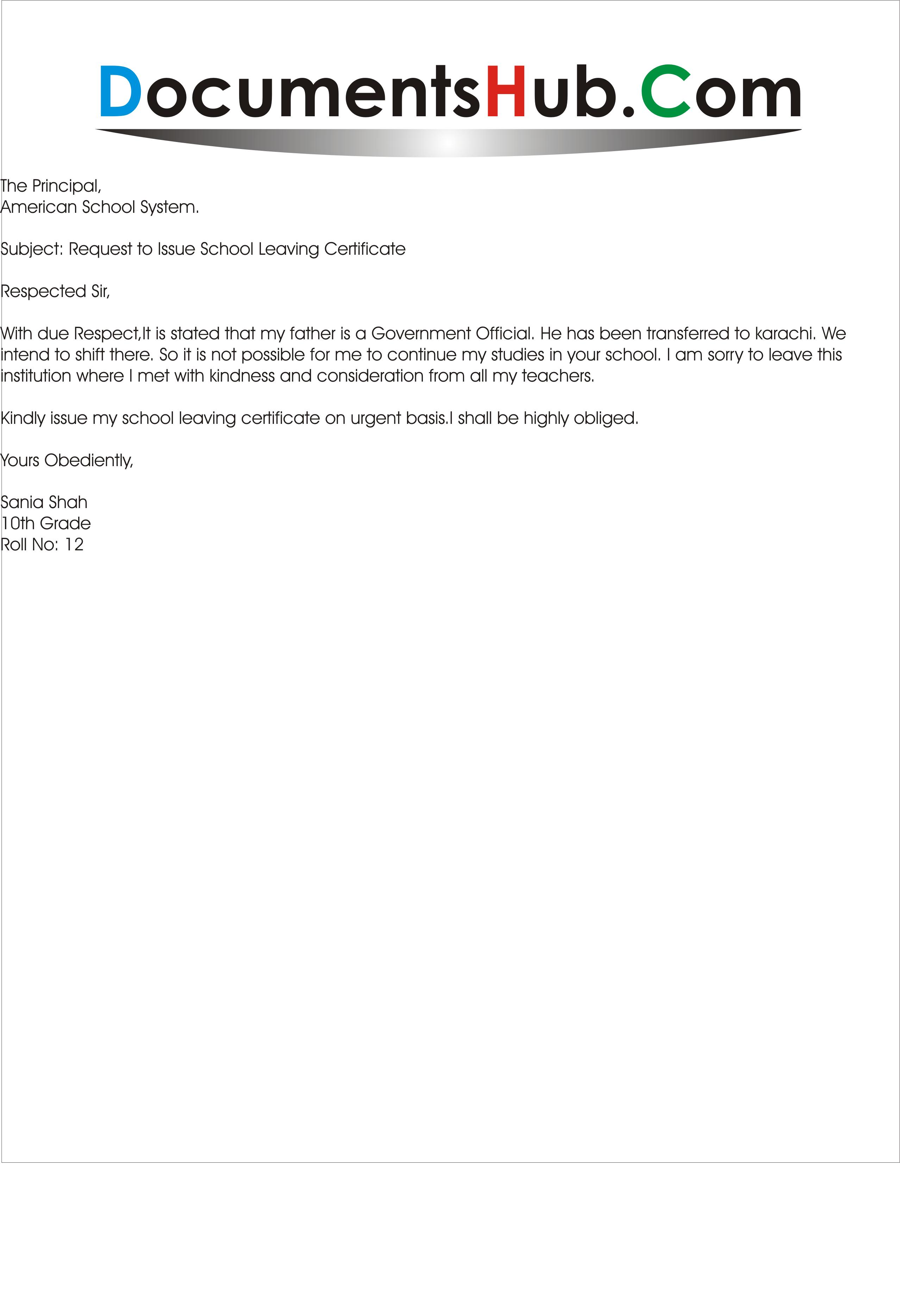 Letter For School Leaving Certificate Cover Templates Cohabitation  Agreement Sample Living Together Nup