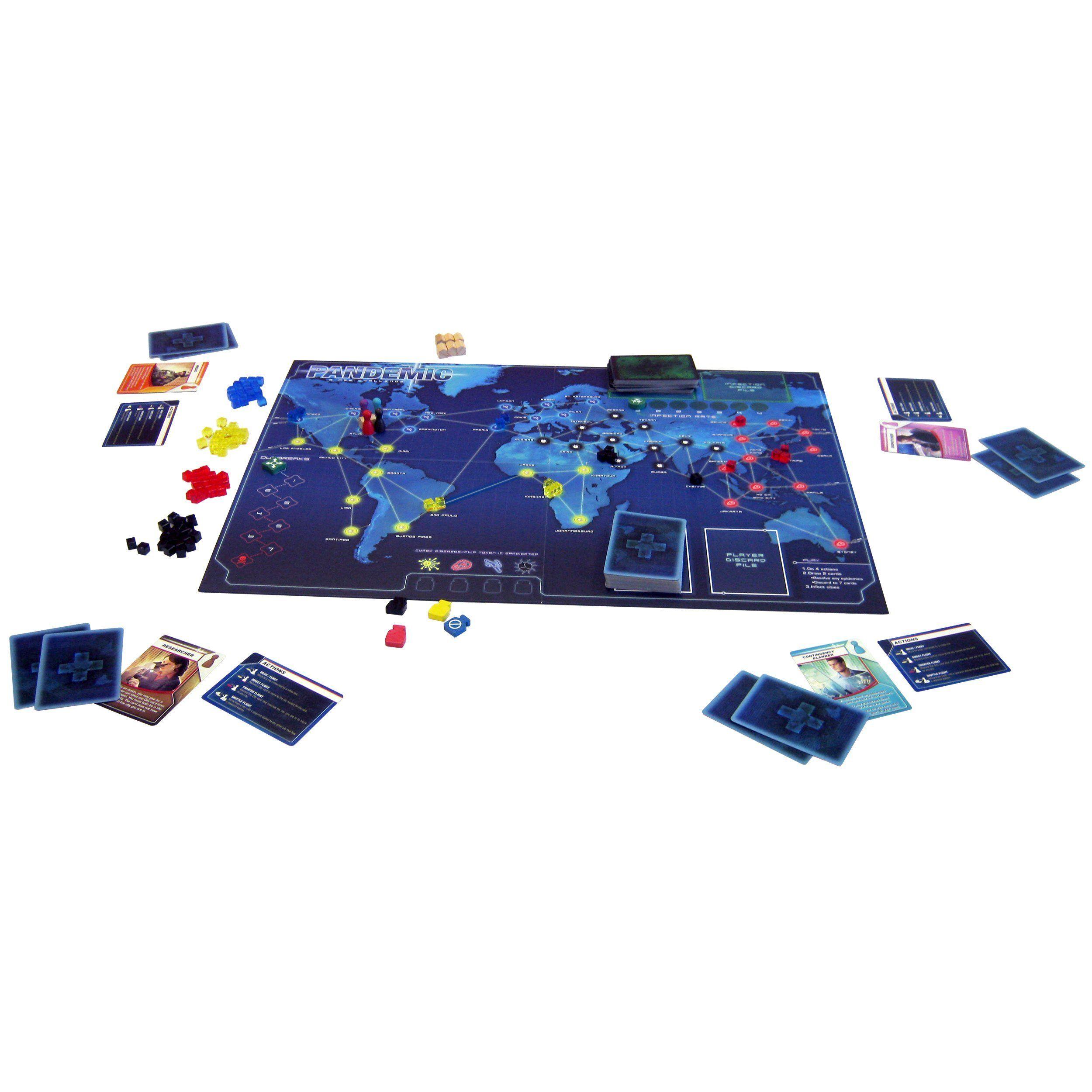 Pandemic Board Game movies Fun board games, Board