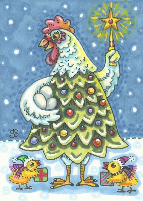 One Mother Hen: Christmas Tree