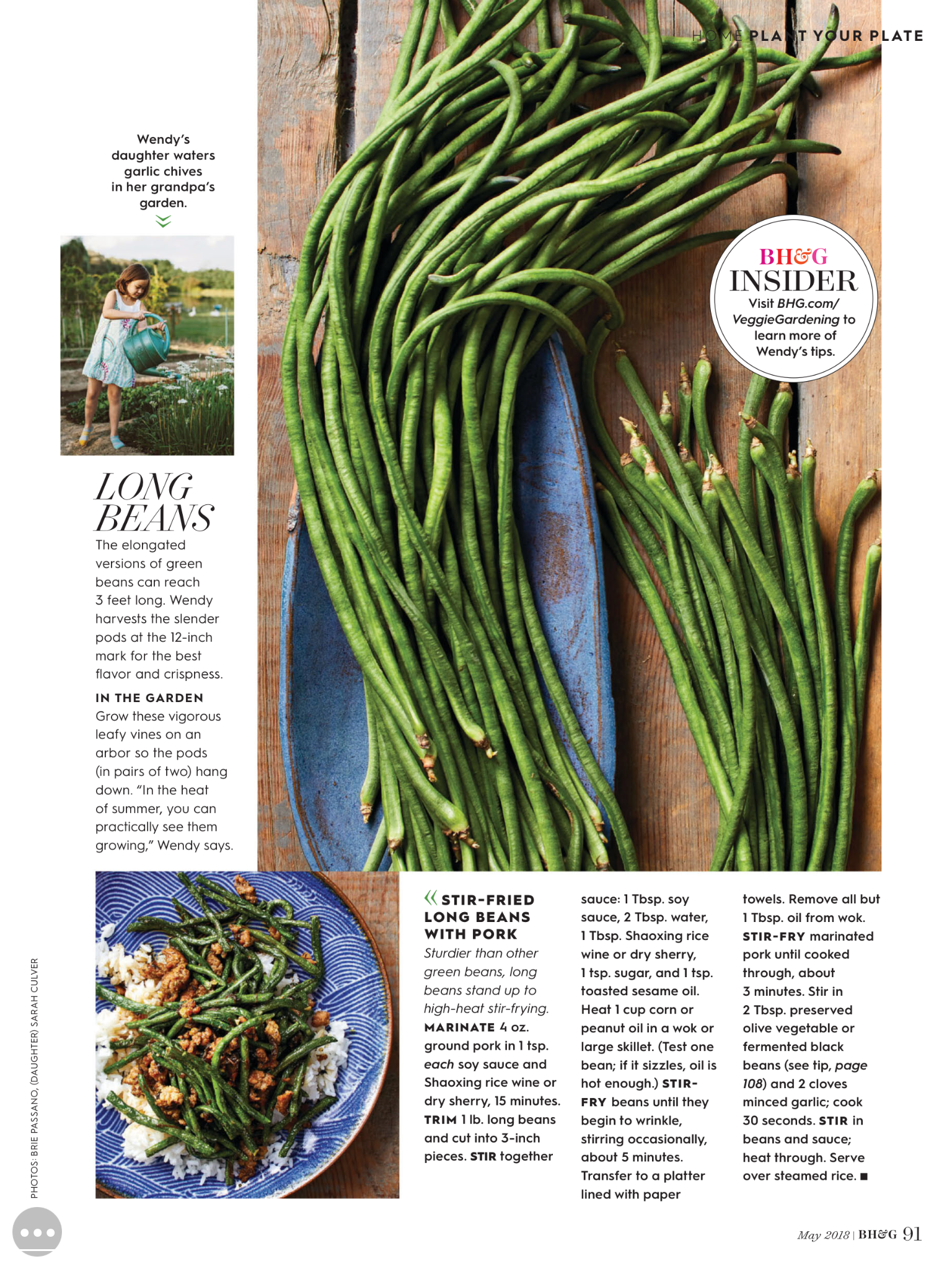 Pin By Adrienne Bryant On Side Dish Long Bean Garlic Chives Better Homes And Gardens