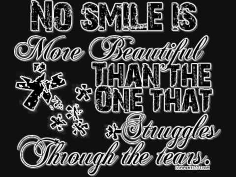 This is my signature smile. | Emo quotes, Lyric drawings, I ...