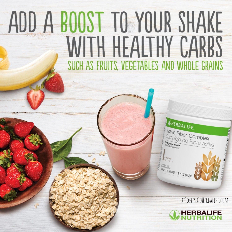 Healthy Carbs, Herbalife, Nutrition