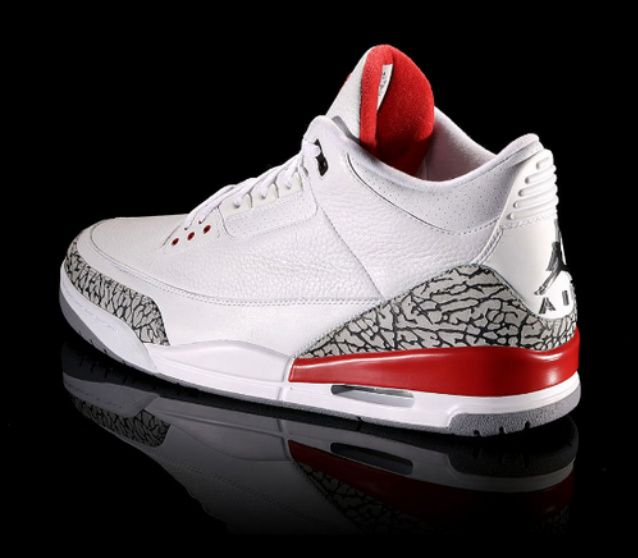 best deals on a6938 834e4 Click to order - Air Jordan 3 White and Red  fashion  nike  shopping   sneakers  shoes  basketballshoes  airjordan  retro