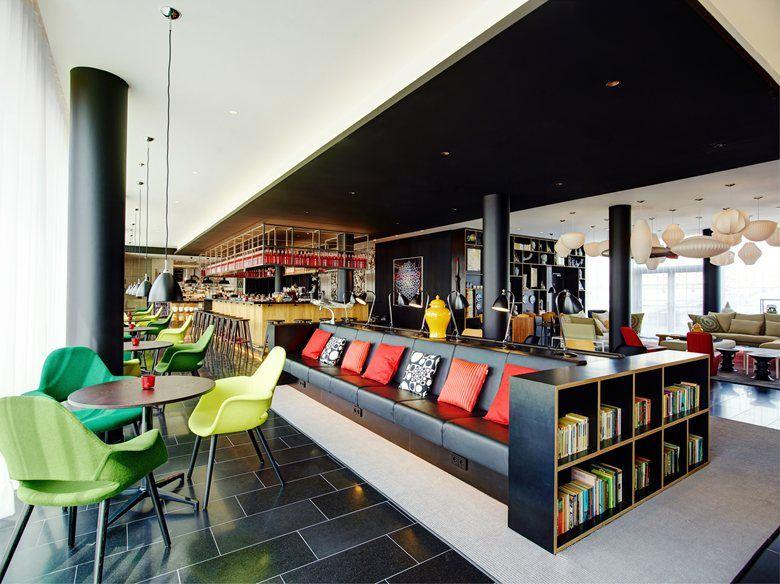 citizenM Hotel Paris Charles de Gaulle International Airport, Tremblay-en-France, 2014 - Concrete Architectural Associates