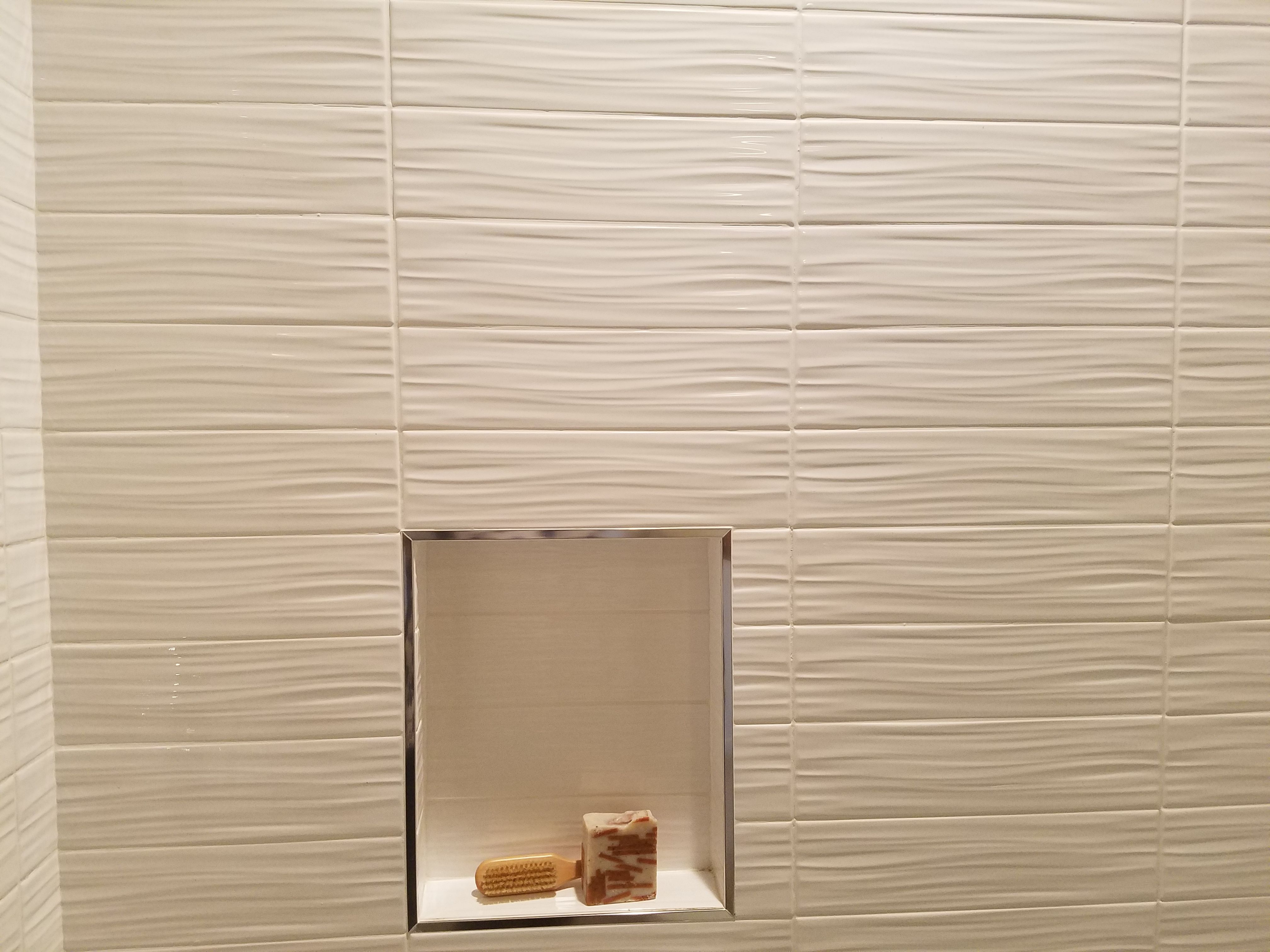 Going With The Flow On This Walltile Wednesday With Our Vogue Wave